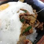 淡淡 - 焼肉丼ニラエッグ¥730 めしぎわ
