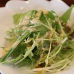 ぷらんたん - セットのサラダ