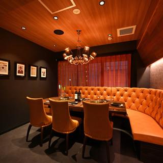 上質空間の完全VIP個室