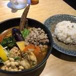 119964519 - 侍まつり(13種野菜とトッピング3種)