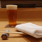 119964811 - 生ビールでスタート