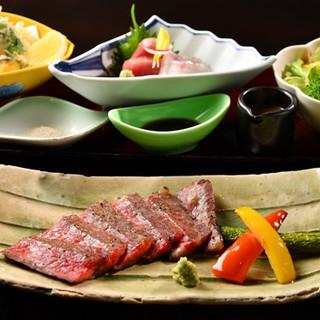 手軽に懐石料理を愉しめる御膳も。季節ごとの味わいを満喫