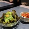 焼肉レストラン清光 - 料理写真:清光サラダ + 長芋キムチ