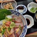 大阪屋 - ひしお(醤)丼(さしみ丼)