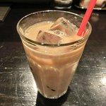 銀座 竹の庵 - すきやき膳<限定15食> 1000円 のアイスカフェオレ