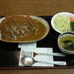 湯ったり館 - 料理写真:カツカレー