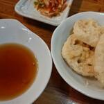 立呑み 得一 - レンコン天ぷら