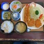 甘楽亭 - 料理写真:ミックスフライ御膳 1,892円