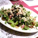 はじめの一っぽ 2 - クレソンと胡桃のサラダ(1,180円)