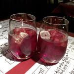 はじめの一っぽ 2 - ニンニク酒〈赤〉(680円)
