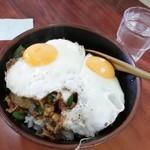 淡淡 - 焼肉丼ニラエッグ¥730