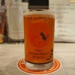 自家製ソーセージ&できたてビール酒場 T.S.Brewery - 飲み比べセット(すだちハニー)