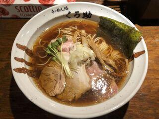 らーめん処 くろ助 - 「醤油ラーメン」730円