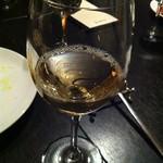 タンブラン - 四恩醸造「窓辺」(甲州)グラスで