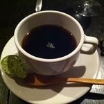 タンブラン - 丁寧に淹れられたコーヒーも絶品