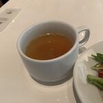 グッドモーニングカフェ - ランチのスープ('19/11/18)