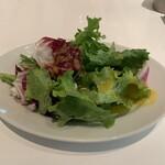グッドモーニングカフェ - ランチのサラダ('19/11/18)
