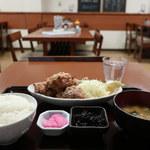 野方食堂 - とりから定食