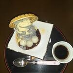 梅寿庵 - 料理写真:黒胡麻アイスもなか「和」540円