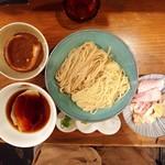 いかれたヌードル フィッシュトンズ - つけ麺Scramble〜北の国から2019 小麦〜・SPトッピング