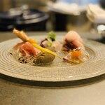 フランス料理と醸造酒 Nuage Japon - 前菜盛り