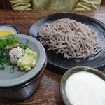 大手食堂 - トロロそば(冷)
