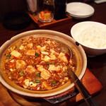 中国菜 秀 - (2019年4月中旬) 四川風麻婆豆腐&ライス