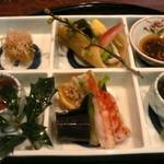 和食おかもと - 最初の一皿@おかもと