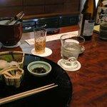 和食おかもと - こんな感じで進んでいきます@おかもと