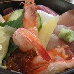 和食 すずき - ランチの海鮮丼 1000円