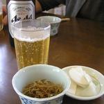 和食 すずき - おつまみ(きんぴらごぼう&香の物)