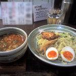 ラーメン専門店 徳川町 如水 - たいわんつけ麺
