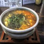 ラーメン専門店 徳川町 如水 - たいわんつけ麺にたまごぞうすいを追加!