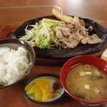 とき和 - 料理写真:とんジュジュ定食