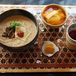 豆乳ラーメン専門店 豆禅 - おすすめ湯葉丼セット