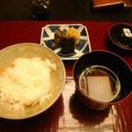 石葉 - ご飯