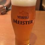 せんなり亭近江肉 橙 - ヱビスのマイスター