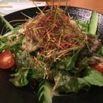 せんなり亭近江肉 橙 - 橙特製野菜サラダ