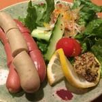 せんなり亭近江肉 橙 - マイスターのウィンナー3種