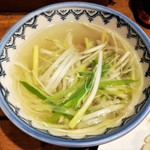 120004215 - 牛たん定食共通 テールスープ