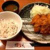 とんかつ 花むら - 料理写真:牡蠣&ヒレカツ膳