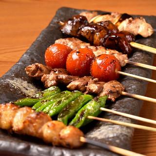 【日南鶏を使用】職人技で焼き上げた本格焼鳥をご堪能ください!