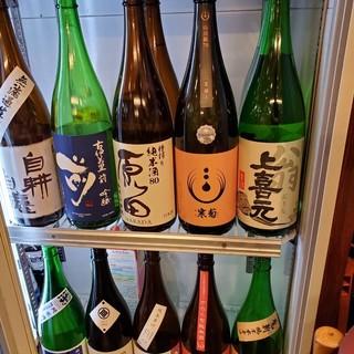 鮮度の日本酒!