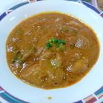 インド・ネパール料理 FULBARI - ベジタブル(830円) ナンORライスお替り自由 サラダとドリンク付き