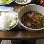 丸勘 - ランチ(ご飯・豚汁)