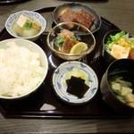 鰻彩 のとや - 彩り定食(ランチ限定)