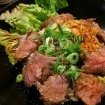 肉バル ミート キッチン 298 - ステーキ丼