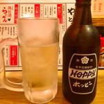 やきとりスタンド - ホッピーセット白398円/税別