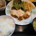櫻舞 - チキン南蛮定食680円