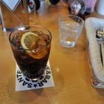 サンテリア - セットドリンクのコーラ